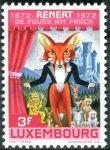 """(1972) MiNr. 852 - ** - Lucembursko - 100. výročí prvního vydání publikace """"Renert"""""""