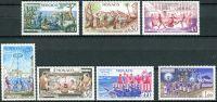 (1973) MiNr. 1095 - 1101 ** - Monako - 50 let Výbor pro národní tradice