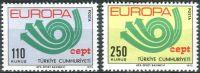 (1973) MiNr. 2280 - 2281 ** - Turecko - Europa