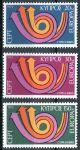 (1973) MiNr. 389 - 391 ** - Kypr (řecký) - Europa
