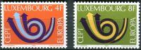 (1973) MiNr. 862 - 863 - ** - Lucembursko - Europa