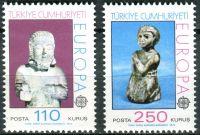 (1974) MiNr. 2320 - 2321 ** - Turecko - Europa
