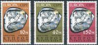 (1974) MiNr. 409 - 411 ** - Kypr (řecký) - Europa: sochy