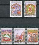 (1974) MiNr. 893 - 897 - ** - Lucembursko - 50 let charitativní známky