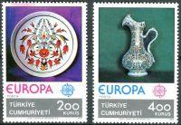 (1976) MiNr. 2385 - 2386 ** - Turecko - Europa: Řemesla