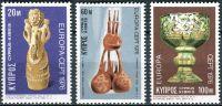 (1976) MiNr. 435 - 437 ** - Kypr (řecký) - Europa: Řemesla