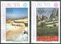 (1977) MiNr. 2415 - 2416 ** - Turecko - Europa: krajiny