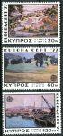 (1977) MiNr. 464 - 466 ** - Kypr (řecký) - Europa: krajiny