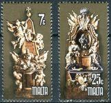 (1978) MiNr. 569 - 570 ** - Malta - EUROPA - památky
