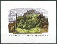 (1985) MiNr. 1819 O - Rakousko - BLOCK 7 - Rok lesa
