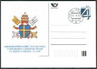 (1997) CDV 22 O - P 23 - Návštěva Papeže - razítko