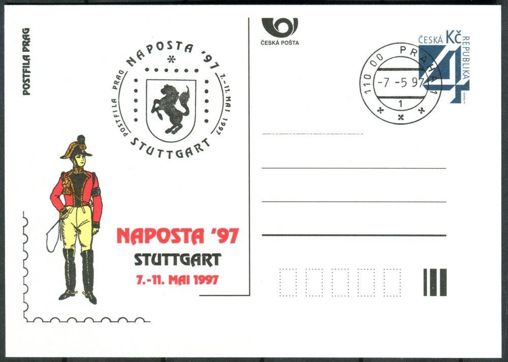 (1997) CDV 22 O - P 24 - kašet - NAPOSTA Stuttgart 97