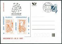 (1997) CDV 22 O - P 25 - Riccione - razítko + kašet