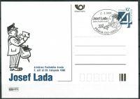 (1998) CDV 22 O - P 36 - Josef Lada - příležitostné razítko