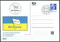 (1998) CDV 32 O - P 35 - Riccione - razítko + kašet