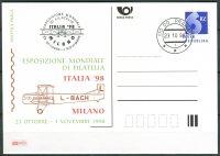 (1998) CDV 32 O - P 39 - Milano 98 - Stempel