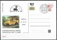 (1999) CDV 41 O - P 51 - Köln - stamp + cachet