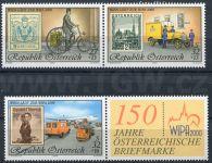 (2000) MiNr. 2222 II.,2270 II., 2292 II. ** - Rakousko -  WIPA 2000