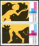(2003) MiNr. 4593 - 4594 ** - Bulharsko - 2-bl - Europa: plakátové umění