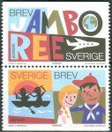 (2007) MiNr. 2573 - 2574 **- Do + Du - Švédsko - Europa: skauti