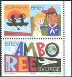 (2007) MiNr. 2573 - 2574 ** - Du + Do - Švédsko - Europa: skauti
