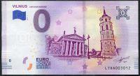 (2018-1) Litva - € 0,- Vilnius - pamětní suvenýr