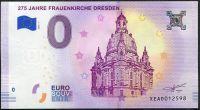 (2018-1) Německo - Drážďany - € 0,- pamětní suvenýr