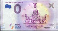 (2018-1) Německo - Quadriga - € 0,- pamětní suvenýr
