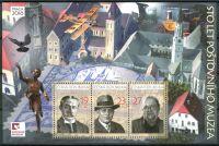 (2018) A 988 - 990 ** - Česká republika - 100 let Poštovního muzea