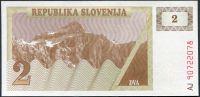 Slovinsko - (P 2) 2 Tolar (1990) - UNC