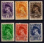 (1945) č. 381-386 ** - ČSSR - Moskevské vydání