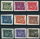 (1945) č. 363-371 ** - ČSSR - Londýnské vydání