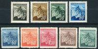 (1945) č. 372-380 ** - ČSSR - Lipové listy