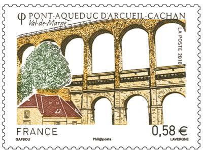 (2010) č. 4964 ** - Francie - Pont Aqueduc d'Arcueil Cachan