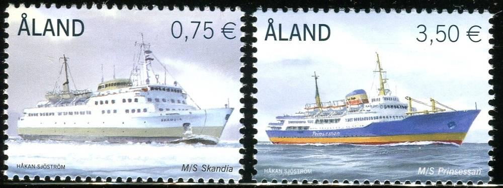 (2010) MiNr. 325-326 ** - Aland - námořní lodě