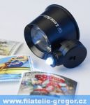 Magnifier 10 x magnification, incl. 1 LED