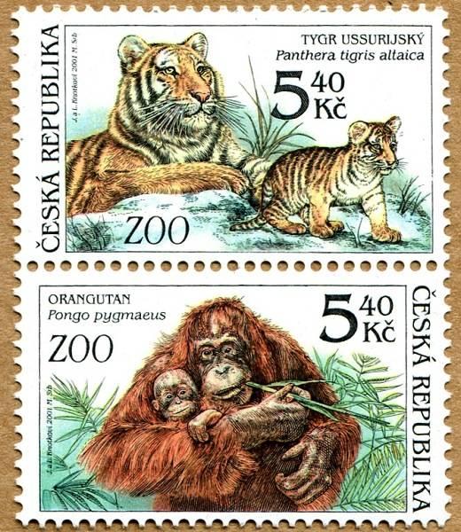 (2001) č. 302-303 ** - sp - Zvířata v ZOO