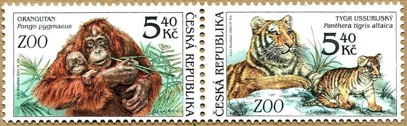 (2001) č. 303-302 ** - sp - Zvířata v ZOO
