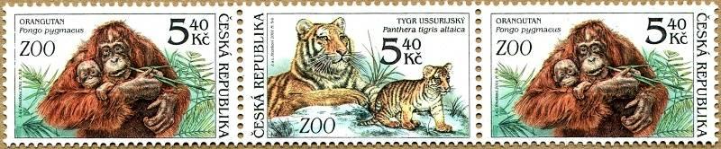 (2001) č. 303-302-303 ** - 3-pá - Zvířata v ZOO