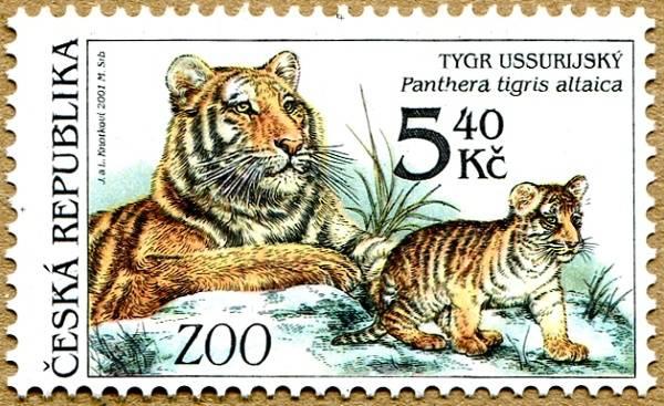 (2001) č. 302 ** - tygr Ussuryjský