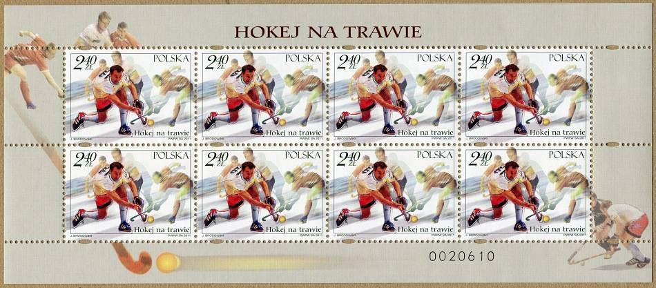 (2011) č. 4506 ** - Polsko - PL - Pozemní hokej
