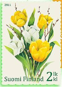 (2011) č. 2106 ** - Finsko - tulipány