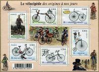 (2011) MiNr. 5129 - 5134 ** - Francie - BLOCK 153 - historická kola