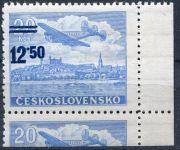 (1949) č. L 30 ** - ČSSR - KD - Letecké zn. - přetisková provizoria