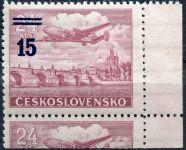 (1949) č. L 31b ** - ČSSR - KD - Letecké zn. - přetisková provizoria