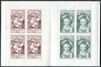 (1962) MiNr. 1418 - 1419 ** - Francie - ZS - Červený kříž