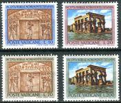 (1964) MiNr. 446 - 449 ** - Vatikán - Ochrana památek Nubie