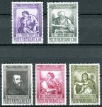 (1964) MiNr. 454 - 458 ** - Vatikán - 400. výročí úmrtí Michelangela