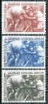 (1964) MiNr. 459 - 461 ** - Vatikán - 100 let Mezinárodní Červený kříž