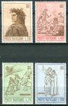 (1965) MiNr. 477 - 480 ** - Vatikán - 700. narozeniny Dante Alighieri